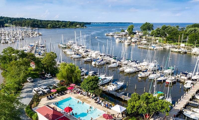 Maryland Boat Marina